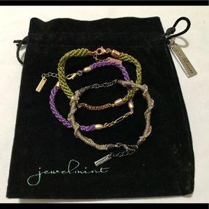 """Jewelmint Fashion Jewelry- """"Autumn"""" Braid Bracelet"""